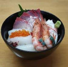 人気急上昇中の海鮮丼
