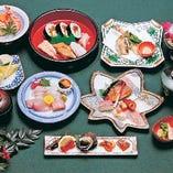 お料理コース6,300円(税抜)