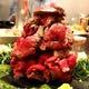 人気の肉のフジヤマ焼!ヒマラヤ岩塩で炙ります!