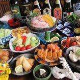 3430円★2時間★料理30品+飲み物30種の食べ飲み放題が人気です。