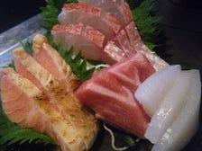 旬の鮮魚を仕入れています