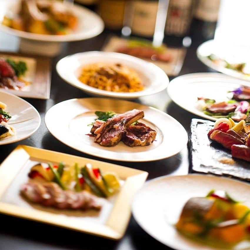 肉宴会・お祝いはココ 各種コース