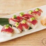 鰹の棒寿司