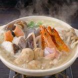 海鮮塩ちゃんこ鍋