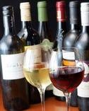 ワインに合うメニューも鉄板で!