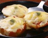チーズトマト焼き  少し甘めの隠し味が絶妙
