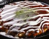 山芋たっぷりのお好み焼きは大葉を入れてあっさりふわふわ