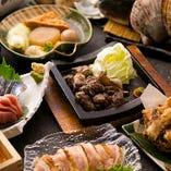 満足度が高い宴会コースは、クーポン価格4,000円~ おもてなしにふさわしい贅沢なプランも