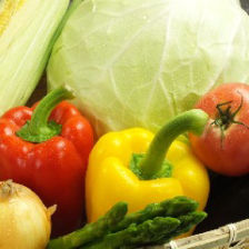 【ヘルシー野菜】鉄板焼き・生野菜