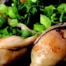鉄板牡蛎バター