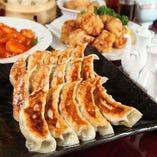 ザ・肉餃子とリーズナブルな人気の四川料理で楽しめます!
