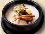 ハーフ蔘鶏湯定食