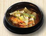 海鮮味噌チゲ定食