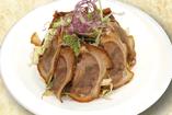 コラーゲン豚足サラダ