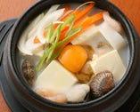 塩純豆腐チゲ定食