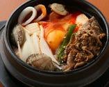 プルコギ純豆腐チゲ定食