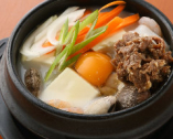 塩プルコギ純豆腐チゲ定食