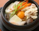 塩もつ純豆腐チゲ定食