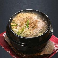 参鶏湯ラーメン定食
