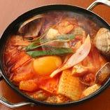 海鮮純豆腐鍋