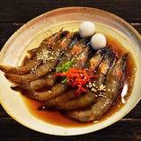 カンジャンセウ(海老の醤油漬け)