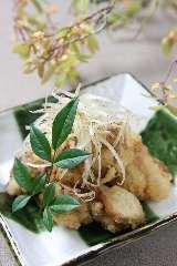 博多地鶏の塩唐揚げ