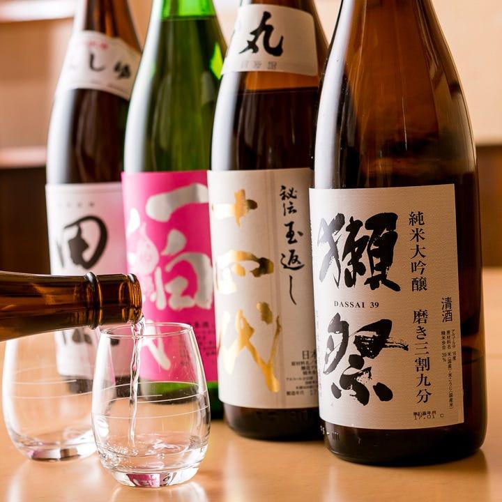 日本酒・ビール…店主厳選のお酒多数