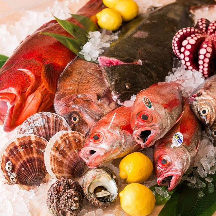 徳島産のどぐろ等こだわり産直鮮魚