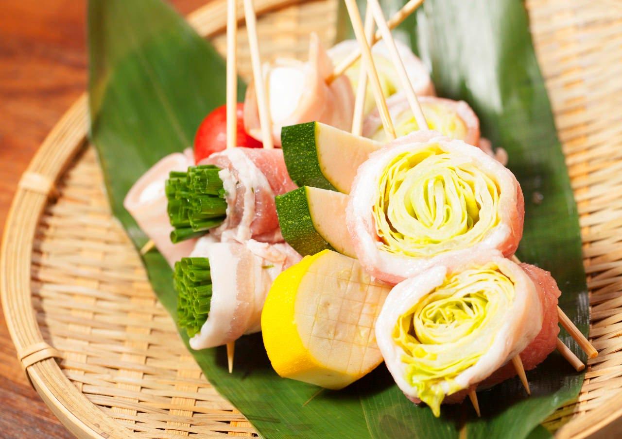 豚、鶏、野菜、海鮮など、女性に嬉しい豊富なラインナップ☆