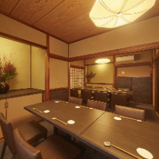 古民家を改装した優雅な完全個室