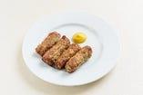ルーマニア風ハーブ入り豚ひき肉団子
