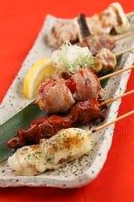 鶏三昧!串料理&鍋&郷土のコース