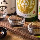 日本酒飲み比べセット 3つの銘柄を飲み比べ☆