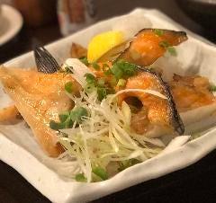 銚子産の鮭のハラスとカマ焼き盛り(1日限定20食)
