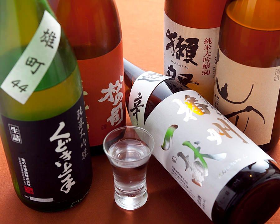 注目の高い日本酒ラインナップ
