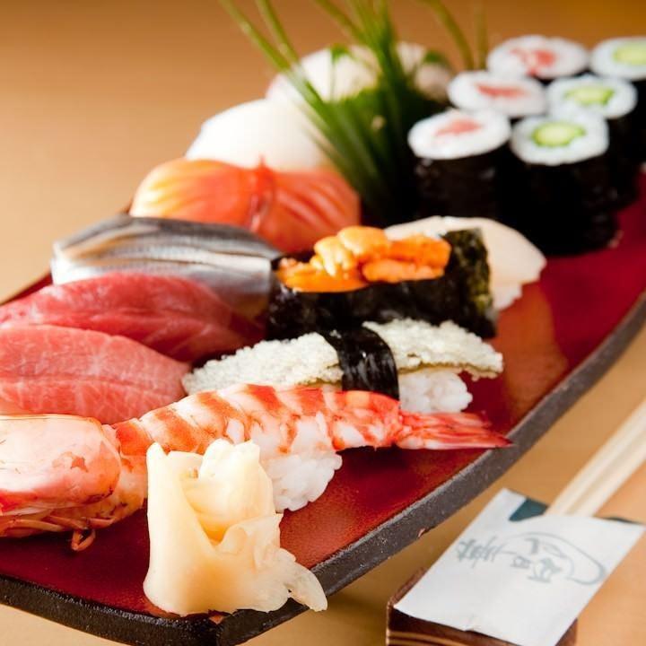 職人による本格江戸前寿司