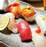 素材と新鮮さにこだわった美味しいお寿司をご堪能いただけます。