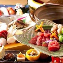 【大将にお任せ!】いきをい寿司の特別コース 全8品