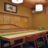 接待はじめ、大事な会食に最適の個室席