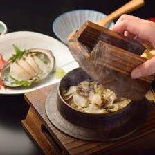 海鮮の風味豊かな釜めしの数々