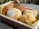 コースタイムは、焼きたてのおいしいパンが食べ放題です!