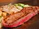 柔らかい上質のステーキをジューシーに焼き上げます!