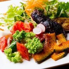 京都伏見の契約農家からの新鮮野菜