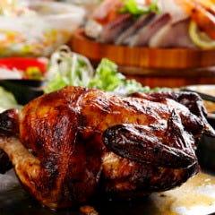 ブタチキバカ 2番人気!丸鶏丸焼き!ロティーサリーチキン