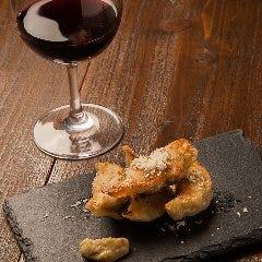 餃子とワイン 果皮と餡