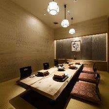 個室接待・個室会食・個室顔合わせ