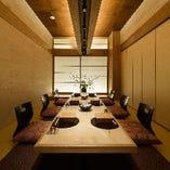東京駅周辺での接待・会食・お祝いなどに22室の完全個室をご用意