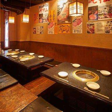 黒毛和牛焼肉 七甲山 学芸大学店 店内の画像