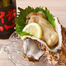 真牡蠣と岩牡蠣!旬の食材を提供☆