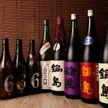 日本酒巡り♪店長厳選日本酒をご堪能